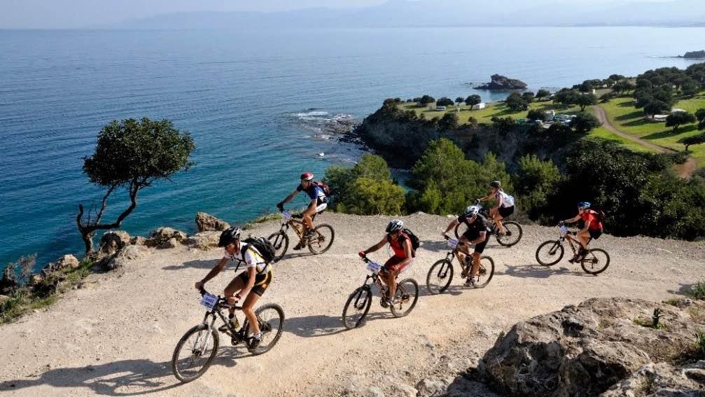 Cycling Akamas Peninsula in Cyprus