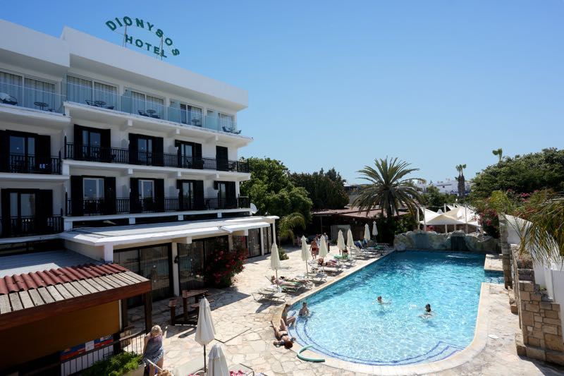 Swimming Pool Area at Dionysos Central Hotel